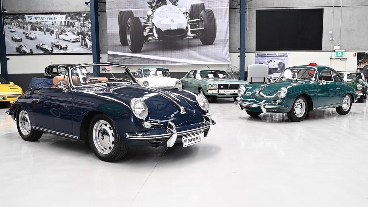 1961 Porsche 356B Coupe (LHD) & 1965 Porsche 356C Cabriolet - 2019 Shannons Melbourne Auction