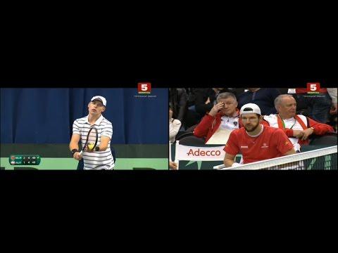 Davis Cup. Belarus - Austria. Ilya IVASHKA - Jurgen MELZER