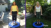 Mini Trampoline Exercise How To Use A Mini Trampoline For Exercise Youtube Benefits of mini trampolines with handles. mini trampoline exercise how to use a