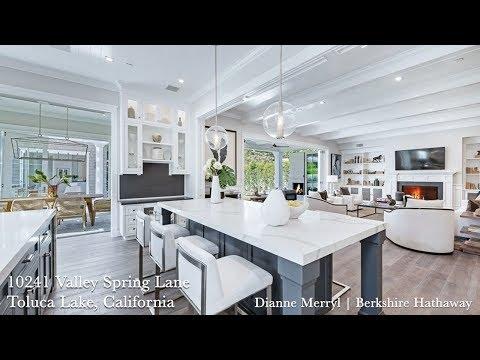 Hamptons Style Sophisticated Smart Home Luxury in Toluca Lake
