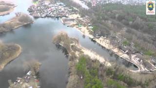 Аэросьемка берег Черкассы 29-30 03 16