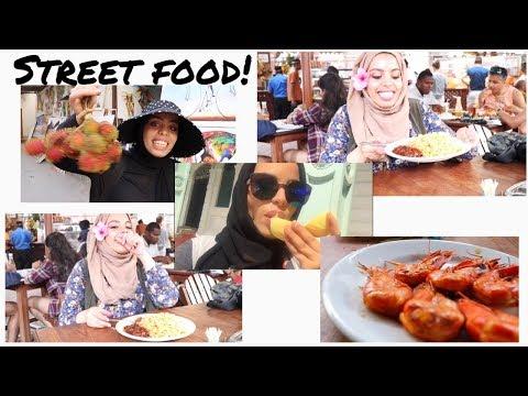 BEST STREET FOOD IN STONE TOWN ZANZIBAR VLOG !   SPOONFULLOFHONEY