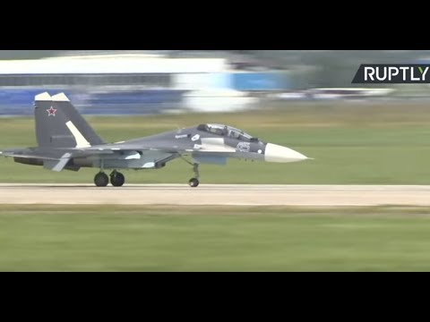 MAKS 2017 Air Show - Day 5 (Streamed live)