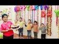 Kids Go To School | Best friend's birthday Chuns Buy a Birthday Cake To Celebrate 2
