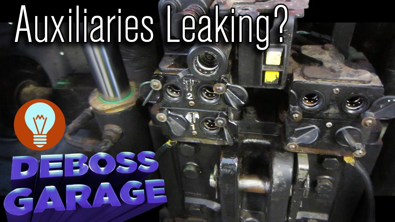 How To Replace Transmission >> Auxiliary Valve Body Rebuild on a Case IH MX 255 - YouTube