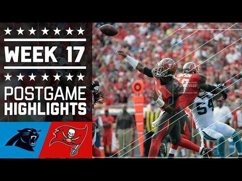 Panthers vs. Buccaneers | NFL Week 17 Game Highlights