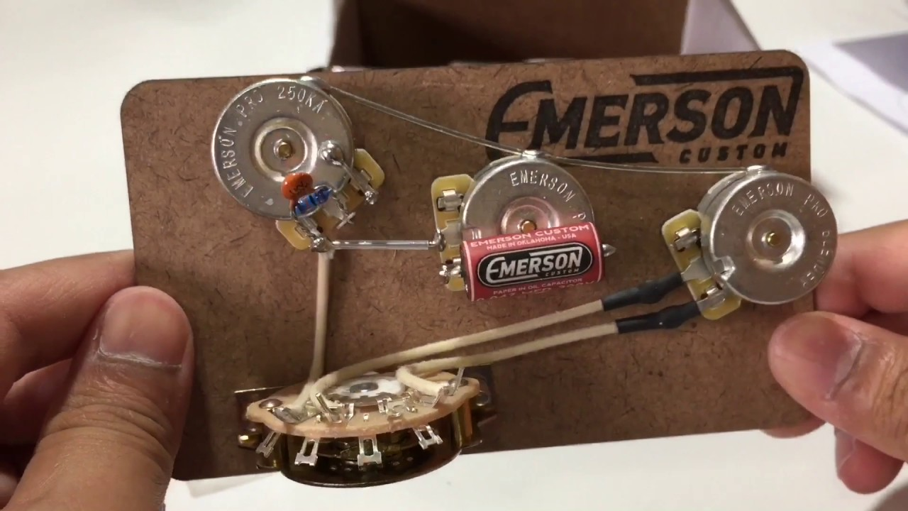 medium resolution of emerson custom blender circuit fot strat install review in thai