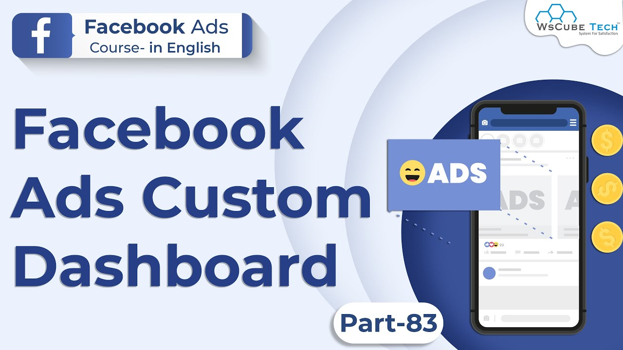 Custom Dashboard in Facebook Ads   Facebook Ads Dashboard #83