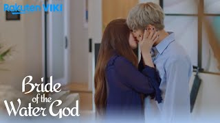 Bride of The Water God - EP14 | Krystal and Gong Myung's Kiss