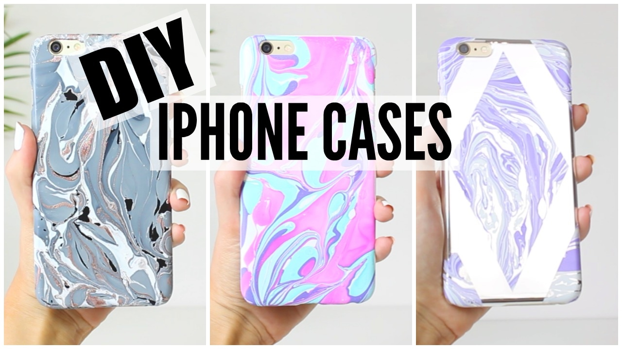 Diy Iphone Cases Watermarble Edition