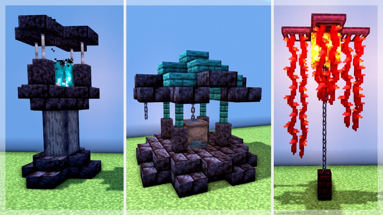 Minecraft: 25 Nether Update Build Hacks and Ideas