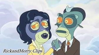 Rick and Morty Clip | Kack mit mir [German]