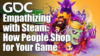 Empathizing with Steam: H๐w People Shop for Your Game