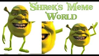 So I Made This Game in Roblox.. [Shrek's Meme World}