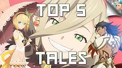 Top 5 'Tales of' Games - The Best Games in the Tales Series