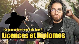 Ouvrir son café jeux : licences et diplômes #3