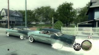 Mafia 2 Car smashing& Tire smokin