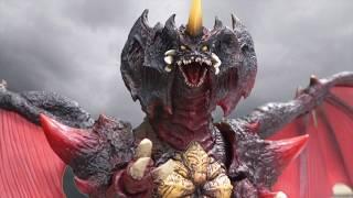 Godzilla 2001 vs Destoroyah Part One [Stop Motion]