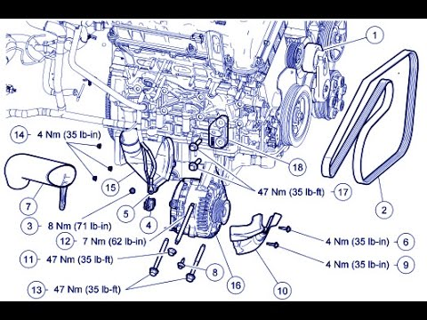 hqdefault ford escape 3 0l alternator replace mazda tribute 3 0l 2005 mazda 6 alternator wiring diagram at gsmportal.co