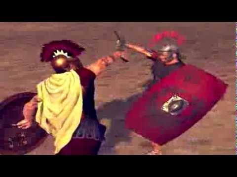 Rome 2:Total War Deadliest Warrior Duels Spartan Praetorian HD 1080p