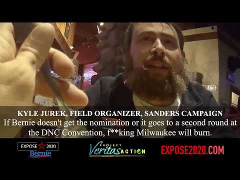 Bobby Gunther Walsh - Project Veritas talks with a Bernie Sanders staffer.