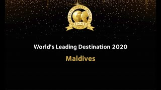 Maldives is the World's Leading Destination of 202...