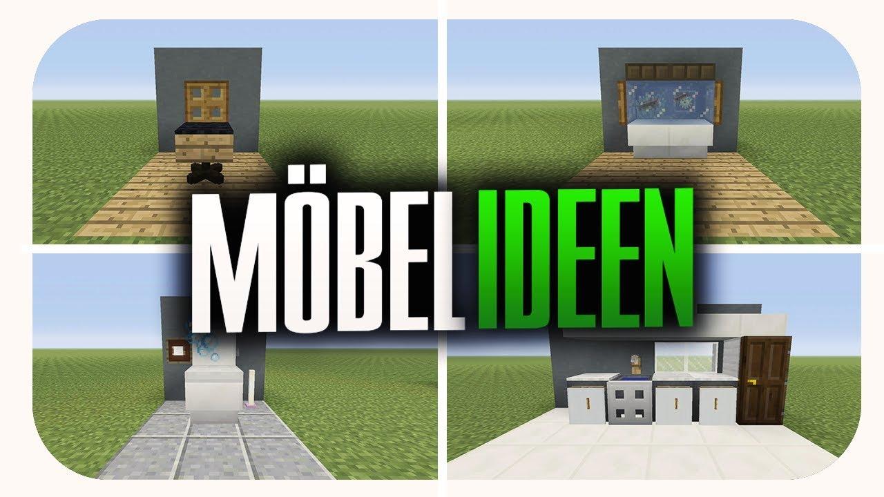 Captivating 4 COOLE Möbel Ideen Für Deine Minecraft Welt! (Tutorial)
