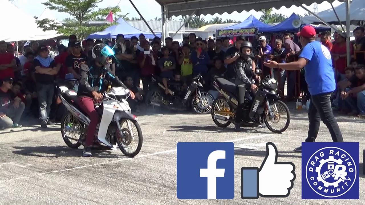 PART 18/18 125cc Sprint Test Drag Racing Kubang Menerong Mac 2018