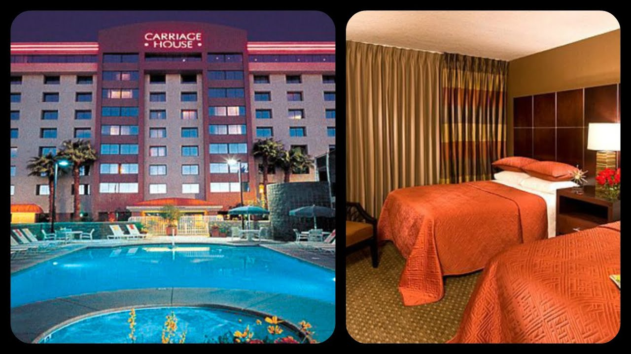 carriage house hotel / the best no resort fee hotel in las vegas
