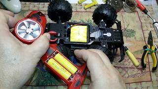 Ремонт пульта управления радиоуправляемой машинки