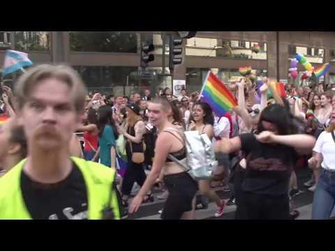 Stockholm Pride Parade 2016