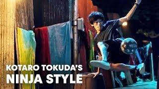 The perfect freestyle football skills. | w/ Kotaro Tokuda