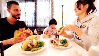 عصام طبخ مكسيكانو وقيّمت طبخوو  | عصام ونور
