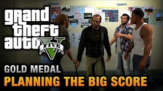 GTA 5 - Mission #76 - Planning the Big Score (Obvious) [100% Gold Medal Walkthrough] thumbnail