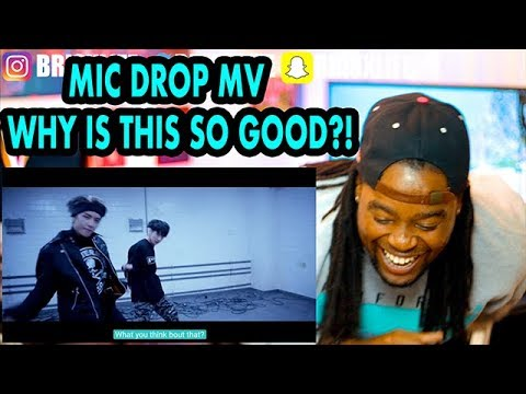 BTS | MIC Drop | Steve Aoki Remix' Official MV |BLACK GUY REACTION!!!