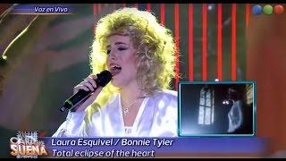 Laura Esquivel es Bonnie Tyler - Tu cara me Suena 2015