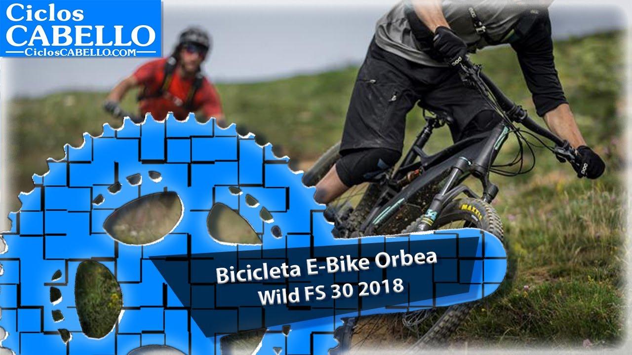 16a65330dcbb2f E-Bike Orbea Wild FS 30 2018 - YouTube