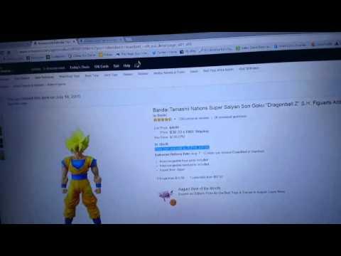 Bootleg Super Saiyan Son Goku Figuarts from Amazon