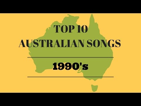 Top 10 Australian Songs from the 1990's
