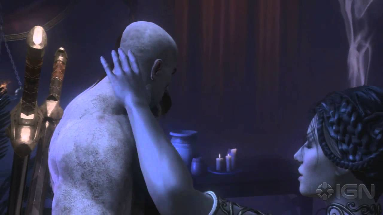 God Of War Naked Scene
