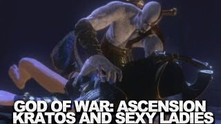 God of War: Ascension - Kratos and the Naked Ladies Cutscene