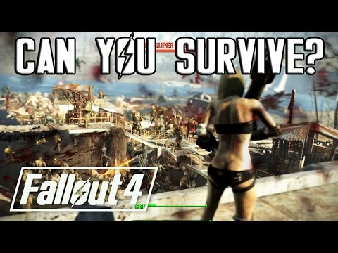 SURVIVING EPIC FALLOUT 4 BATTLES!? (#7) 500 DEATHCLAWS vs. 500 SUPER MUTANTS!