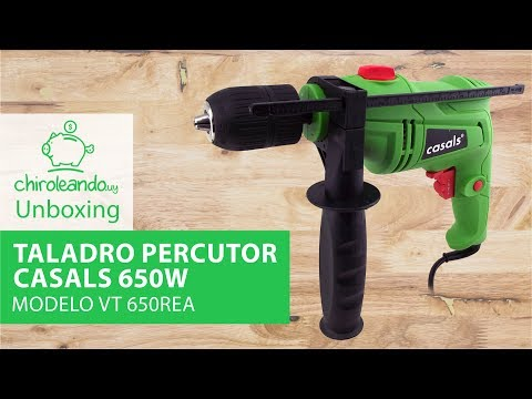 Taladro Percutor Casals 650W Modelo VT 650REA / Chiroleando.uy