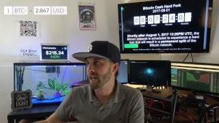 Bitcoin Cash August 1st  - Digital Gold Live thumbnail