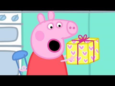 Świnka Peppa - przyjecie urodzinowe taty świnki