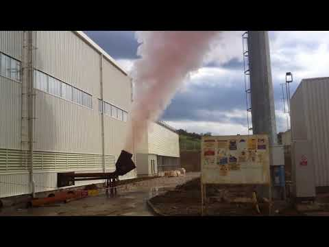 Steam Blowout Procedure during a power plant construction project