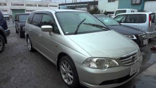 2002 Honda Odyssey - family seven seat used car for sale Tokyo Japan