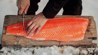 연어구이 / Fish Grill Recipe / sal…
