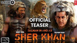 Sher Khan - Official Trailer | Salman Khan | Sunny Deol | Katrina Kaif | Upcoming Movie Salman Khan