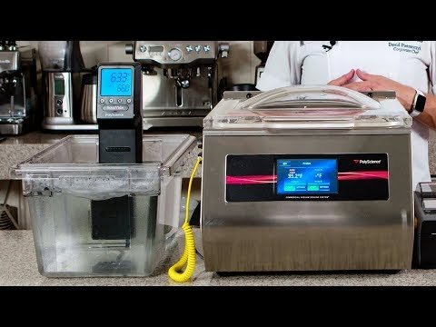 The 400 Series Chamber Vacuum Sealer - Sous Vide Cooking